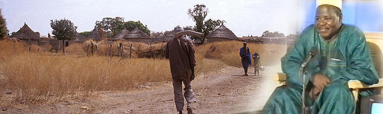 Écrivain, comédien, réalisateur et dramaturge malien
